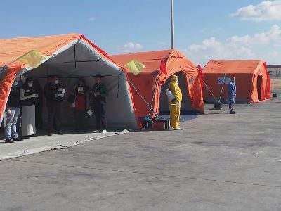 First full-scale simulation exercise in response to a public health emergency event in Egypt