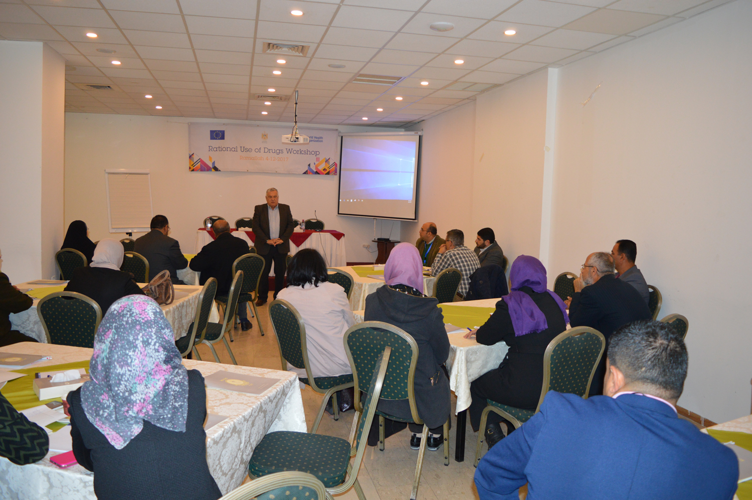 Strengthening mental health services for Palestinians, December 2017